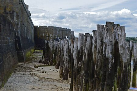 normandy: Saint-Malo in Normandy, France Stock Photo