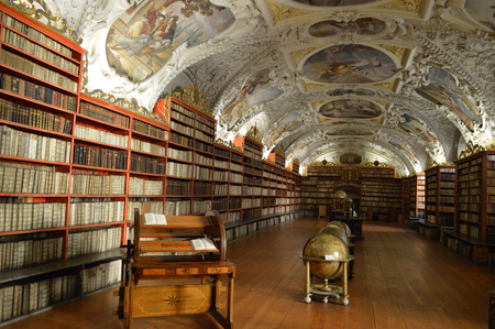 The Strahov Monastery and Library in Prague Stock Photo - 86072497