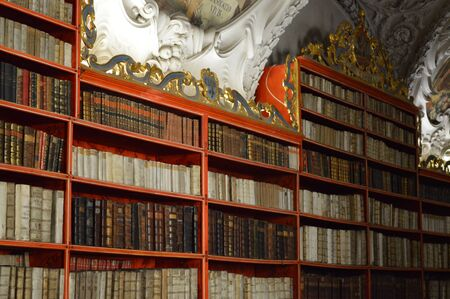 The Strahov Monastery and Library in Prague