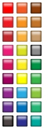 Square web buttons Stock Photo