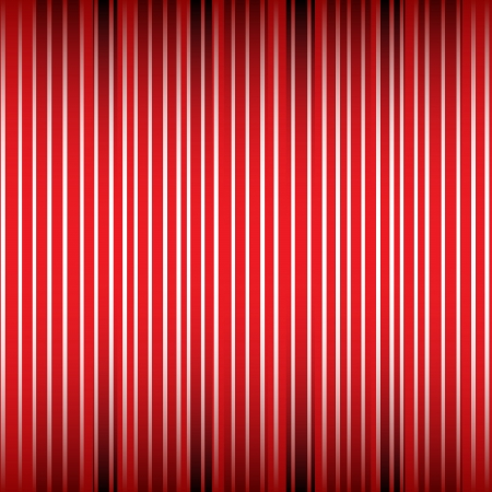 courtain: Striped background, white, red lines Illustration