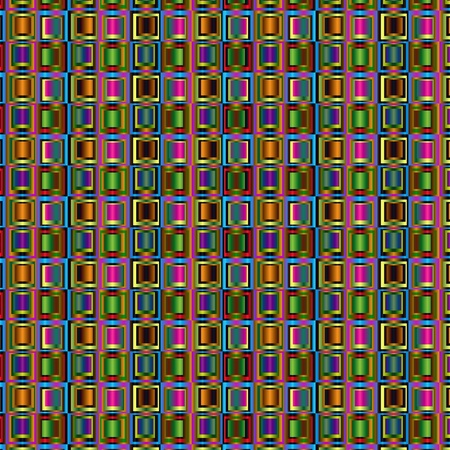 Chaotic background pattern with squares