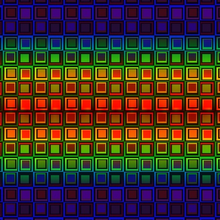 Abstract background pattern with squares