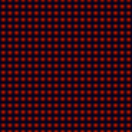 Red dots background pattern, hypnotic Illustration