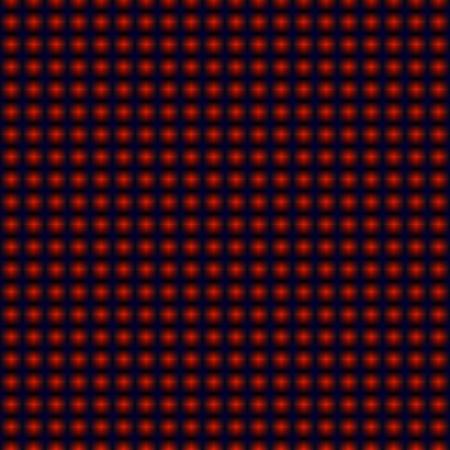 Red dots background pattern, hypnotic Illustration