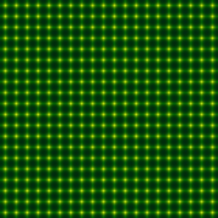 Background pattern with green lines and dots Illustration