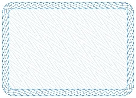 Frame, size A4 Vector