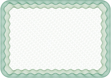 changed: Guilloche frame, border, with round corners, size A4, thickness of the lines can be changed easily