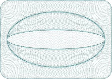 Background used for coupons, vouchers, money, diplomas, certificates or business cards, size A4  Illustration