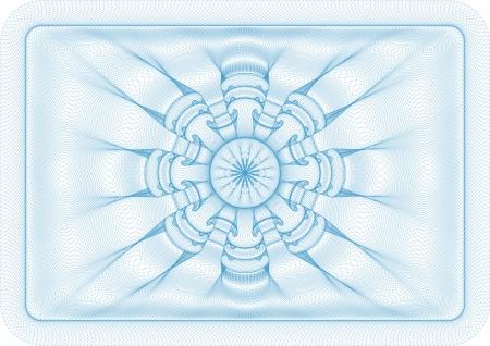 rosettes: Vector illustration of diploma, voucher or money
