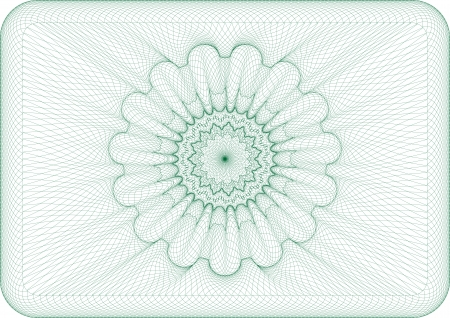 Vector illustration for money, currency or voucher Reklamní fotografie - 24027483
