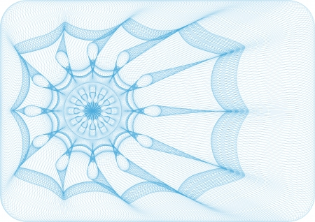Spider web background for voucher, ticket or coupon