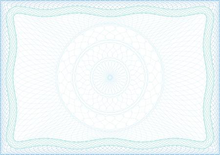 Rahmen für Diplom, Zertifikat oder Gutschein Standard-Bild - 24442094