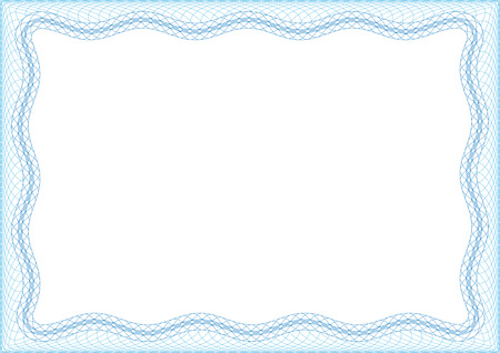 Blank frame for invitation