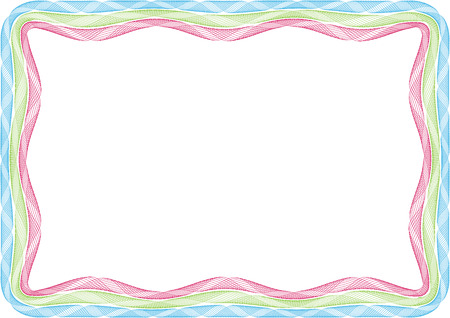 Blank frame for picture or invitation