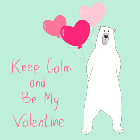 Guard with Keep Calm and Be my Valentine