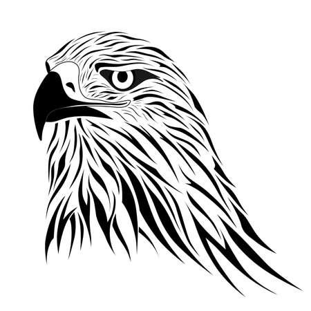 endangered species: Hawk, eagle, tattoo