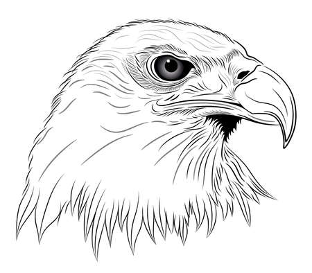 claws: Eagle in the form of a tattoo