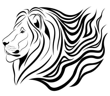 puma: Lion sotto forma di un tatuaggio