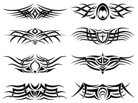 Tribal Tattoo Pack Stock Vector - 8116764