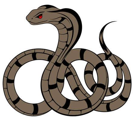 Snake Stock Vector - 15655438
