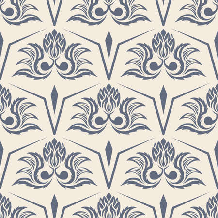 The vector seamless image patterns of flowers Illustration
