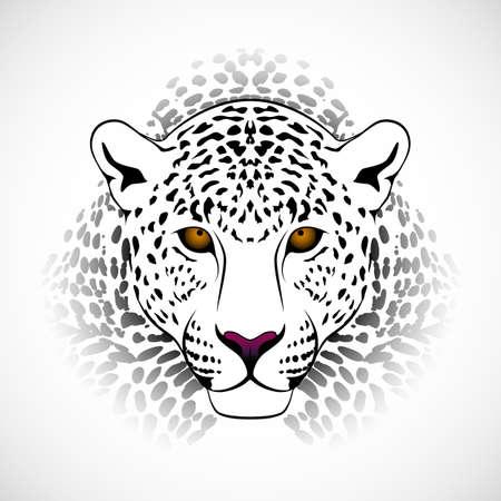 Vector luipaard