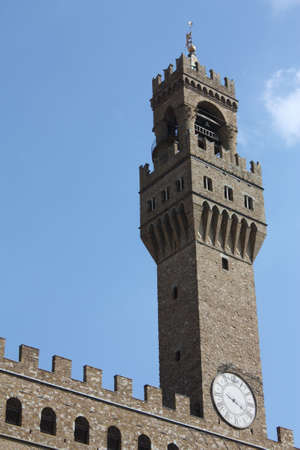 Tower of Arnolfo di Palazzo Vecchio, Florence photo
