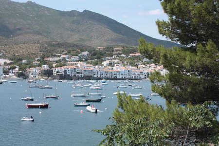 Cadaques, Mediterranean village photo
