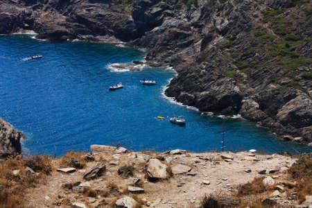 Boats in a bay, Gerona photo