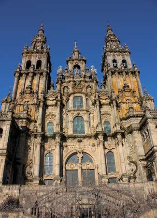 Cathedral of Santiago de Compostela, Spain photo