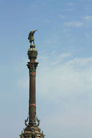 Christopher Columbus statue, Barcelona Stock Photo - 6045986