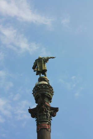 Christopher Columbus statue, Barcelona Stock Photo - 6045987