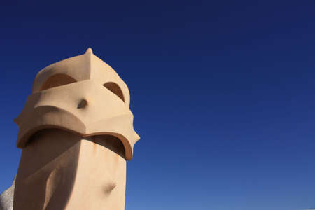 Roof guardian by Gaudi Stock Photo - 6077454