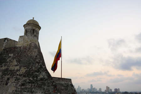 San Felipe de Barajas castle (Castillo San Felipe de Barajas, in spanish). Military stronghold in the city of Cartagena de Indias built by the Spanish during the colonial era in Colombia. It was the largest of the Spanish forts built in the Americas. Cons