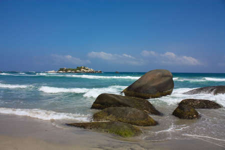 climatic: Tayrona National Park is located in the Caribbean Region in Colombia. 34 km from the city of Santa Marta is one of the most important natural parks of Colombia. It is habitat for a large number of species distributed in regions with different climatic zon