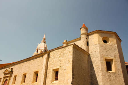 Cathedral of St. Catherine of Alexandria in Cartagena de Indias. Colombia photo