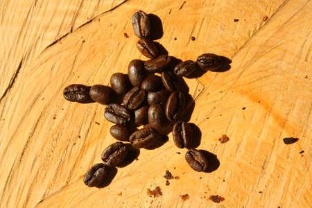 cafe colombiano: Caf� tostado. Colombianos granos org�nicos.  Foto de archivo