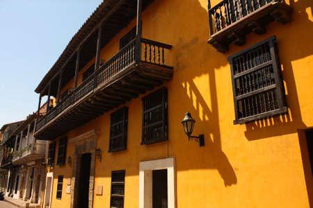 Dowtown of Cartagena de Indias, spanish colonial style. In 1984, Cartagena photo