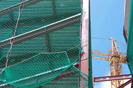 Building under construction. Construction industry. Barcelona, Catalonia, Spain photo