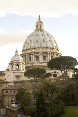peters: Cupola of St. Peters Basilica, Rome, Vatican State. Editorial