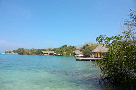 The Rosario Island, an archipelago located about two hours by boat from Cartagena de Indias, Colombia.