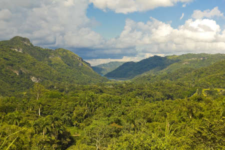 View of the Escambray Mountains, Cienfuegos Province, Cuba Stock Photo - 10928007