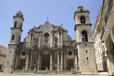 Cathedral of Havana. Cuba photo