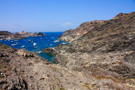excursions: The Cap de Creus, a natural park, is ideal for excursions on foot or by boat. Situated in the northern Costa Brava, Girona province, Catalonia, Spain.