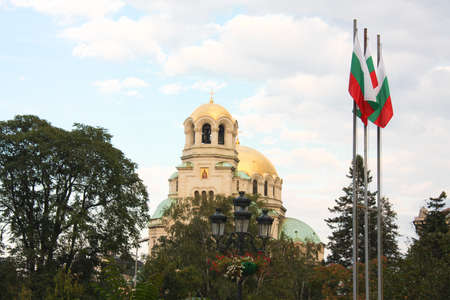 sofia: The St. Alexander Nevsky Cathedral, a Bulgarian Orthodox cathedral in Sofia, the capital of Bulgaria. Is one of the largest Eastern Orthodox cathedrals in the world, as well as one of Sofia
