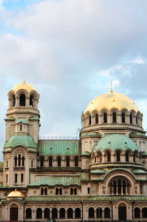 homage: The St. Alexander Nevsky Cathedral, a Bulgarian Orthodox cathedral in Sofia, the capital of Bulgaria. Is one of the largest Eastern Orthodox cathedrals in the world, as well as one of Sofia
