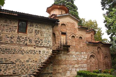Kirche von Bojana. Mittelalterliche Bulgarischen Orthodoxen Kirche. Sofia, Bulgarien, Standard-Bild - 11985151