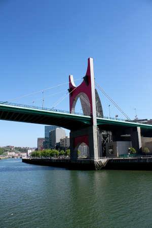 salve: Princes of Spain Bridge, better known as La Salve bridge is a bridge over the Nervion River in Bilbao, Spain.