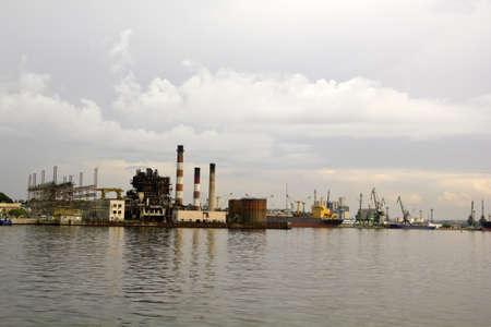 Bay and port of Havana, Cuba. By the blockade, is half abandoned. photo